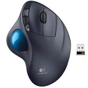 Logitech M570 Wireless Trackball Laser Mouse
